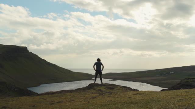 stockvideo's en b-roll-footage met isle of skye sgurr - ver