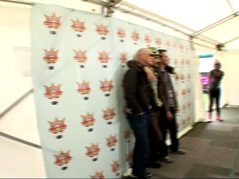 Interview with rock band James ENGLAND Isle of Wight Isle of Wight Festival INT * * Some intermittent jerky camera during following shots * *...