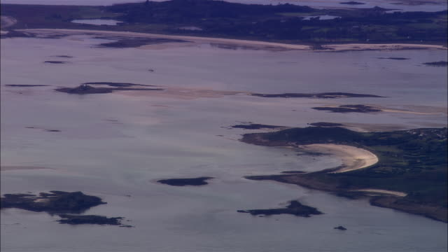aerial, zo, isles of scilly, england - isles of scilly stock videos & royalty-free footage
