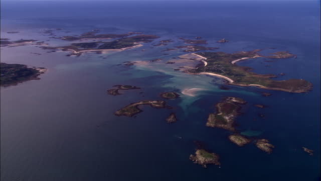 AERIAL, Isles of Scilly, England
