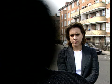 civil action bcms woman staff member intvw sot islington still hasn't got their act together/ they're trying but lots of work needs to be done/ there... - islington stock-videos und b-roll-filmmaterial