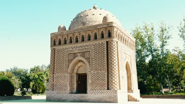 ismail samani mausoleum - mausoleum stock videos and b-roll footage