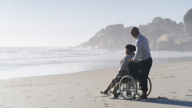 isn't this nice? - physical disability stock videos & royalty-free footage