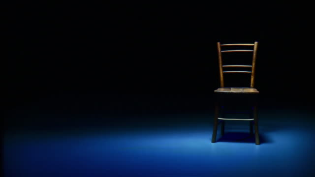 hd dolly: isolated in loneliness - chair stock videos & royalty-free footage