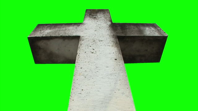 hd loop: isolated spiritual cross - religious cross stock videos & royalty-free footage