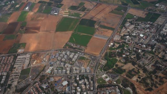 Israel Aerial photograph of the coastal plain