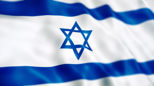 israel flag - israelite stock videos & royalty-free footage