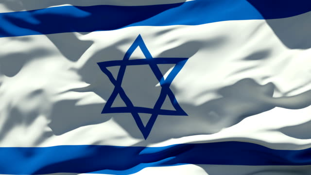 israel flag - national flag stock videos and b-roll footage