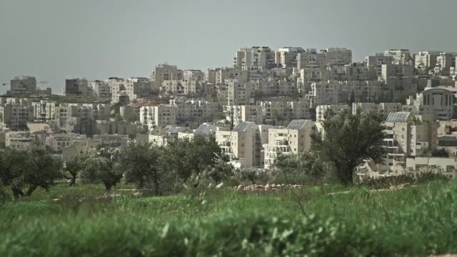 israel has approved plans for more than 200 new settler homes in the occupied west bank adding to a sharp increase in settlement projects so far this... - thursday stock videos and b-roll footage