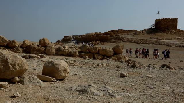 israel- masada - イスラエル点の映像素材/bロール