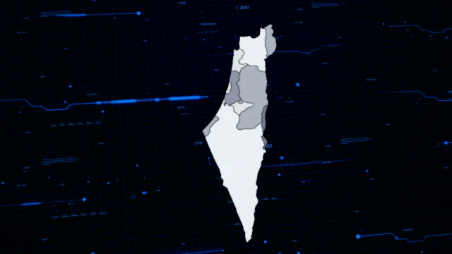 Israel network map