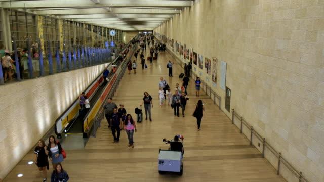 israel terminal airport-ben gurion - israel stock videos & royalty-free footage