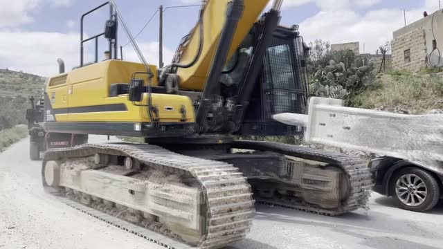 israeli authorities on monday, apr. 12, demolished a palestinian home in the occupied west bank. according to the local media, israeli soldiers... - demolished stock videos & royalty-free footage