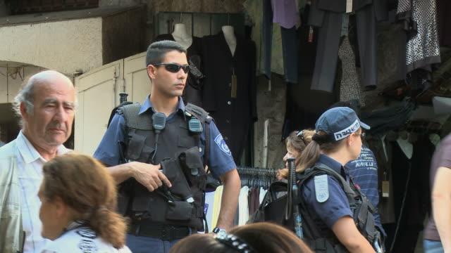 WS Israeli Border Police Officers / Jerusalem, Israel