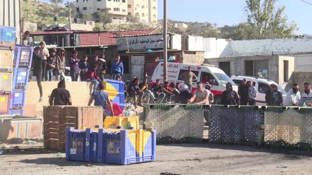 Israeli forces and Palestinian protesters clashed on Thursday at the entrance of Qabatiya near Jenin a village in the northern West Bank that the...