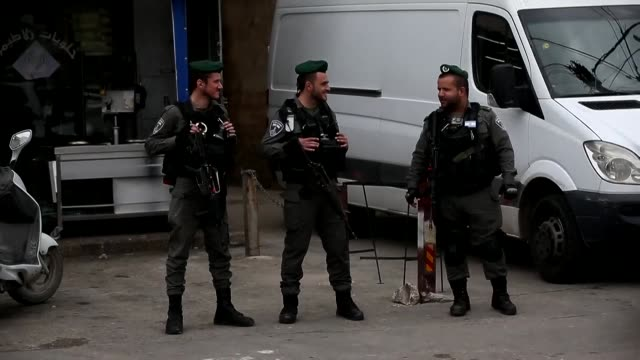 israeli police on tuesday closed a palestinian research centre in jerusalem and briefly arrested its director a prominent cartographer accusing him... - domination stock videos & royalty-free footage