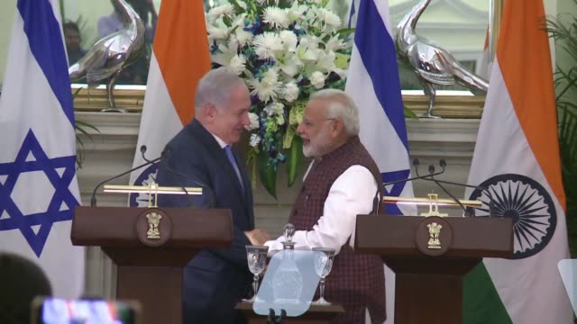 Israeli Prime Minister Benjamin Netanyahu and his Indian counterpart Narendra Modi herald a new era in their relationship signing a slew of...