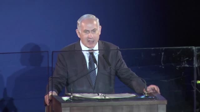 israeli prime minister benjamin netanyahu on monday pledged that he would not cede military control of the west bank's jordan valley in any future... - six day war stock videos and b-roll footage