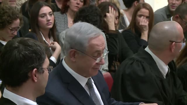 israeli prime minister benjamin netanyahu presented sunday the governments case at a supreme court hearing over a contentious natural gas deal aimed... - court hearing stock videos and b-roll footage