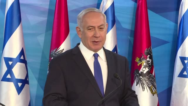 israeli prime minister benjamin netanyahu says that he will meet russian president vladimir putin later this month in moscow for talks on iranian... - governmental occupation stock videos & royalty-free footage