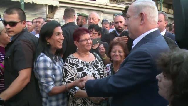 Israeli Prime Minister Benjamin Netanyahu visited a neighbourhood of Tel Aviv where African migrants have settled in recent years