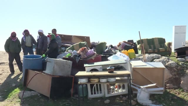Israeli security forces demolished two houses in the bedouin community of Abu Nwar in Area C next to the Israeli settlement of Maale Adumim in the...