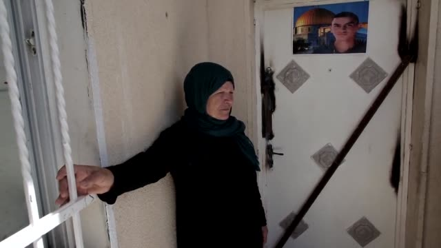 israeli security forces on monday sealed of the home in east jerusalem of abed dawiyatt a palestinian accused of the death of alexander levlovich a... - east jerusalem stock videos and b-roll footage