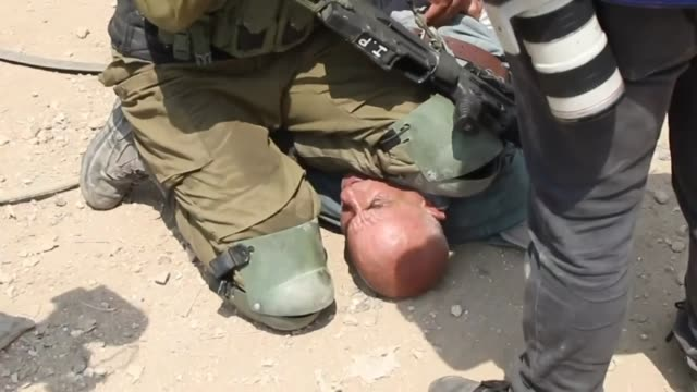 israeli troops assaulted an elderly palestinian who resisted soldiers in east of the northern west bank city of tulkarem on september 01, 2020. the... - african american culture stock videos & royalty-free footage