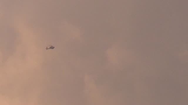 israeli warplanes on monday carried out a fresh wave of airstrikes across the gaza strip, according to military sources. in a statement, israeli army... - israel stock videos & royalty-free footage