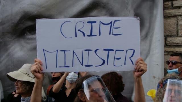 ISR: Protests As Corruption Trial Against Israeli PM Begins In Jerusalem