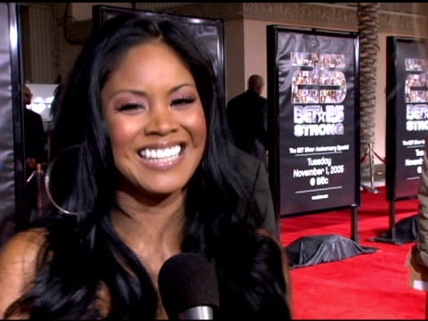 issa on growing up watching bet, on her first memories of a show with a girl named rachel, on looking forward to seeing usher at the bet 25 strong... - usher stock videos & royalty-free footage