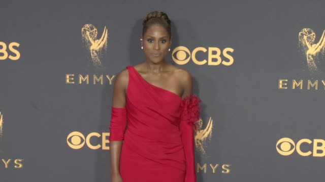 Issa Rae at the 69th Annual Primetime Emmy Awards at Microsoft Theater on September 17 2017 in Los Angeles California