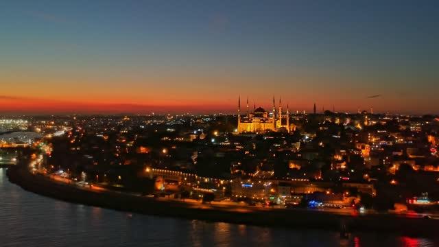 istanbul all'alba - istanbul video stock e b–roll