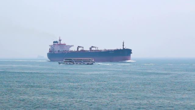 vídeos de stock, filmes e b-roll de hd: istanbul bosphorus - smuggling