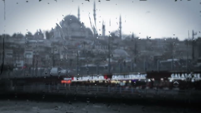 istanbul bosphorus - suleymaniye mosque stock videos and b-roll footage