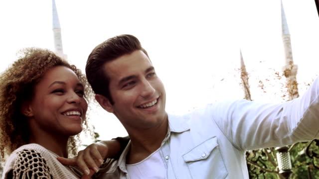 Istanbul Friends Selfie Couple