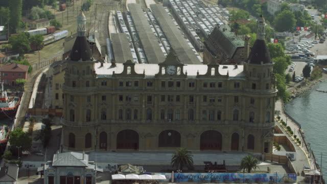 Istanbul Haydarpasa Railway Terminal
