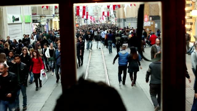 Istiklal Straße in Istanbul