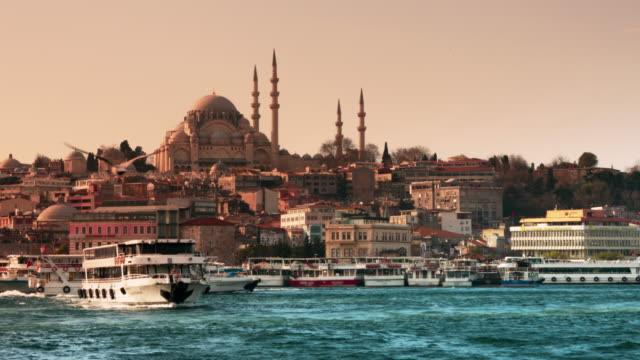 istanbul landscape - istanbul stock videos and b-roll footage