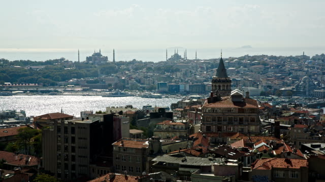 Istanbul panorama with Galata tower