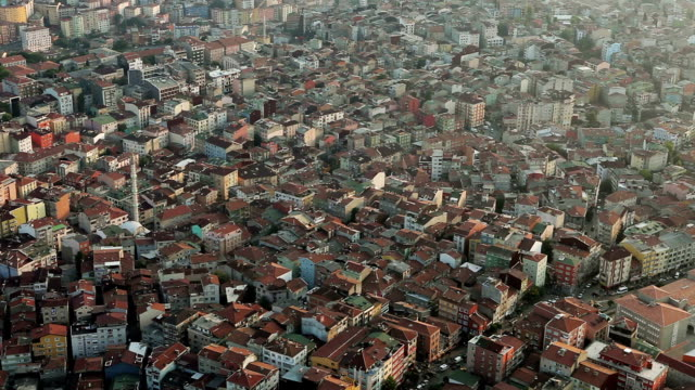 istanbul roofs - population explosion stock videos & royalty-free footage