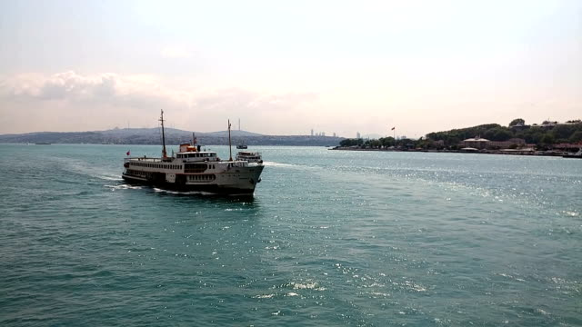 Istanbul seascape timelapse
