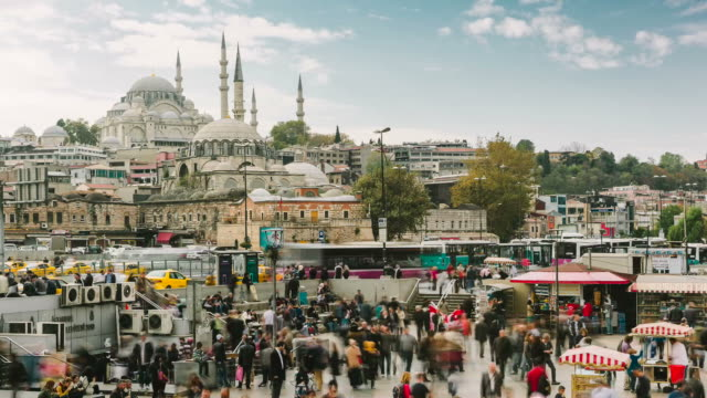istanbul timelapse - istanbul stock videos and b-roll footage