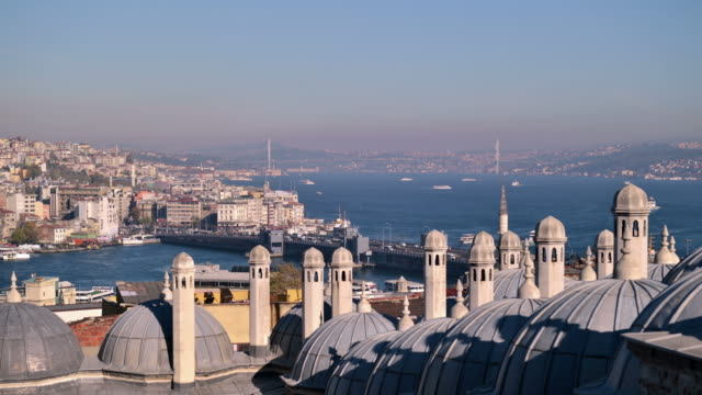cinemagraph: istanbul timelapse - golden horn istanbul stock videos and b-roll footage