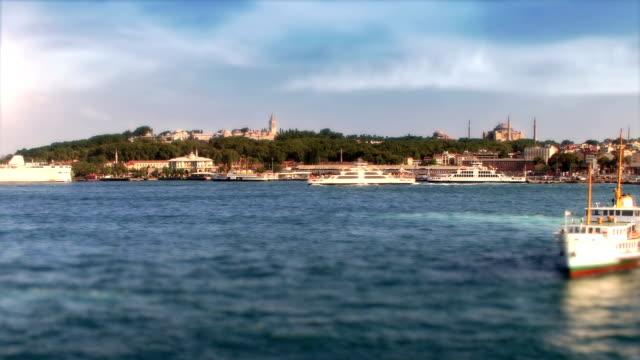 istanbul, turchia - bazar delle spezie video stock e b–roll