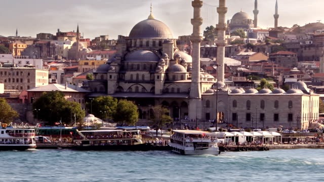 istanbul, turkey - yeni cami mosque stock videos and b-roll footage