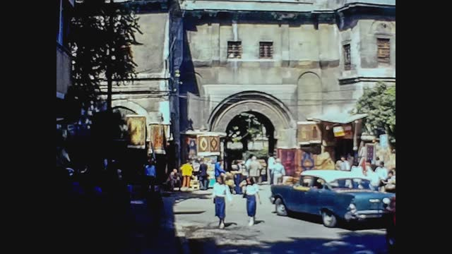 istanbul university main gate in 70's - istanbul stock videos & royalty-free footage