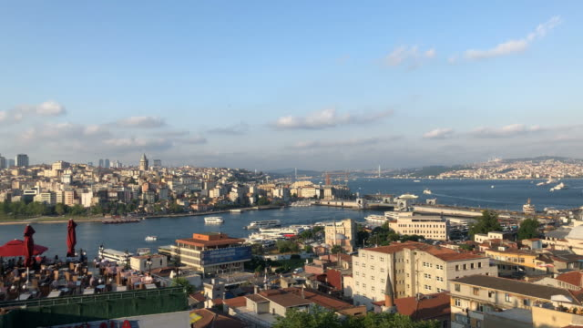 4k istanbul - eminonu district stock videos and b-roll footage