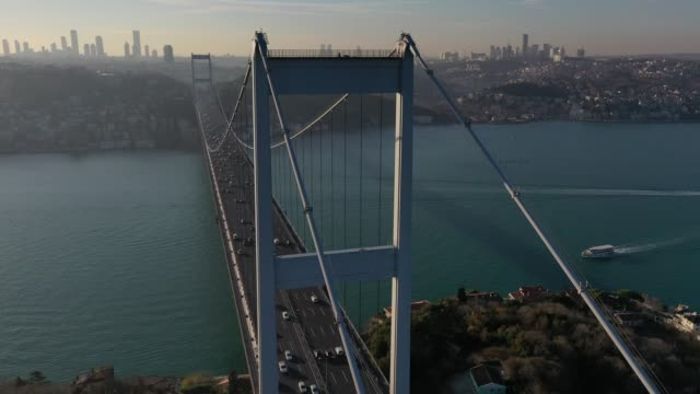 istanbul - july 15 martyrs' bridge stock videos & royalty-free footage