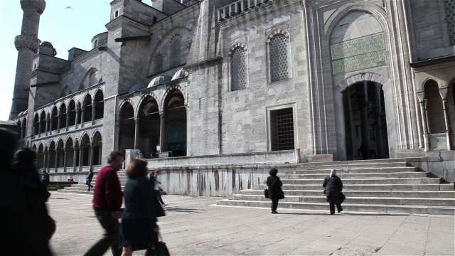 istanbul - sultanahmet district stock videos and b-roll footage